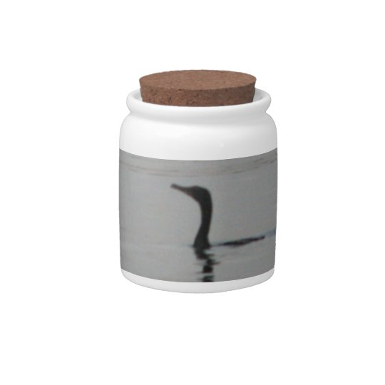 Loon on the Lake Candy Jar