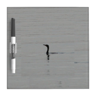 Loon on the Lake Dry Erase Board