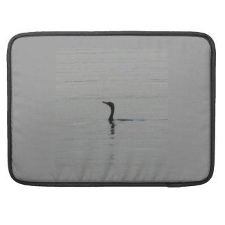 "Loon on the Lake MacBook Pro 15"" Sleeve"