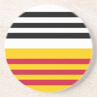 Loon Op Zand Netherlands flag Coasters