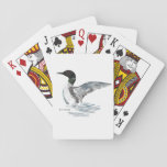 "Loon Playing Cards<br><div class=""desc"">This deck of loon playing cards is the perfect gift.  They&#39;ll be used over and over again at the cabin.</div>"