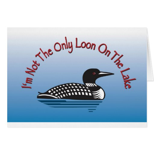 Loon Products Greeting Card