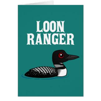 Loon Ranger Card