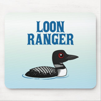 Loon Ranger Mouse Pad