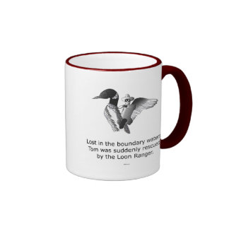 Loon Ranger Coffee Mugs