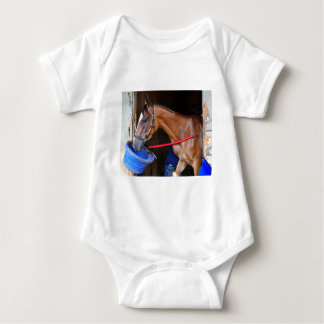Loon River at Saratoga Baby Bodysuit