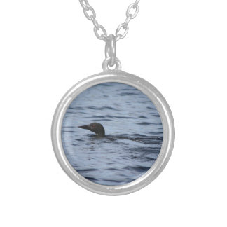 Loon Silver Plated Necklace