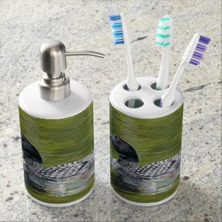 Loon Toothbrush Holder