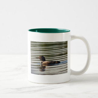 Loon Two-Tone Coffee Mug