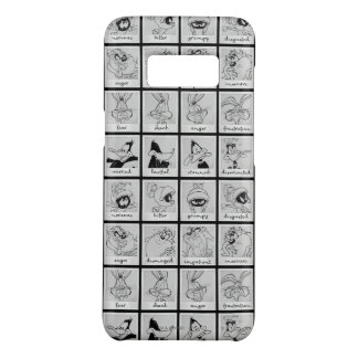 LOONEY TUNES™ Character Emotion Chart Case-Mate Samsung Galaxy S8 Case