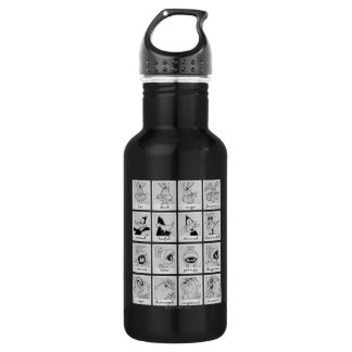 LOONEY TUNES™ Character Emotion Chart Stainless Steel Water Bottle