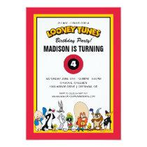 LOONEY TUNES™ Character Group | Birthday Invitation