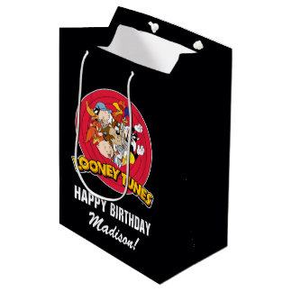 Looney Tunes Character Group | Birthday Medium Gift Bag