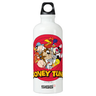LOONEY TUNES™ Character Logo Aluminum Water Bottle