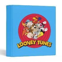 LOONEY TUNES™ Character Logo Binder