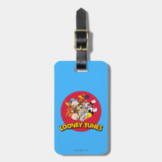 Looney Tunes Character Logo Luggage Tag