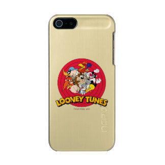 LOONEY TUNES™ Character Logo Metallic iPhone SE/5/5s Case