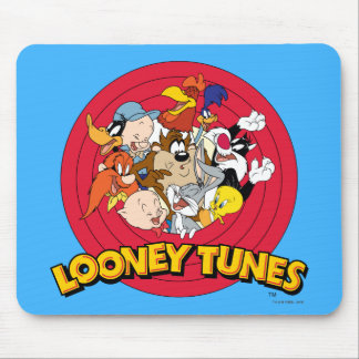 LOONEY TUNES™ Character Logo Mouse Pad
