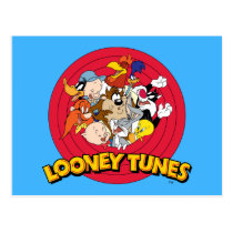 LOONEY TUNES™ Character Logo Postcard