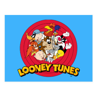 Looney Tunes Character Logo Postcard