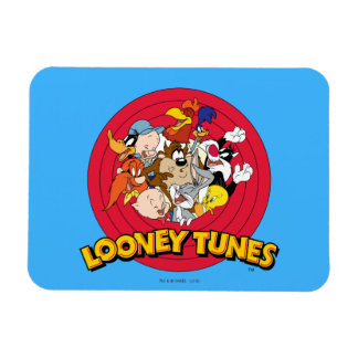 Looney Tunes Character Logo Rectangular Photo Magnet