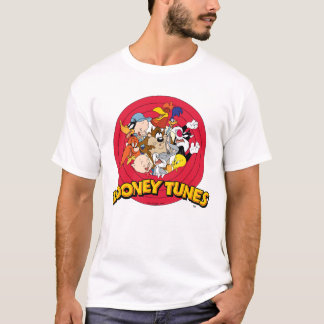 Looney Tunes Character Logo T-Shirt