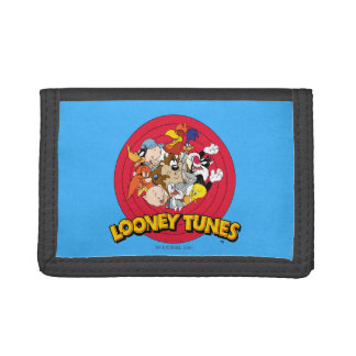 LOONEY TUNES™ Character Logo Tri-fold Wallet