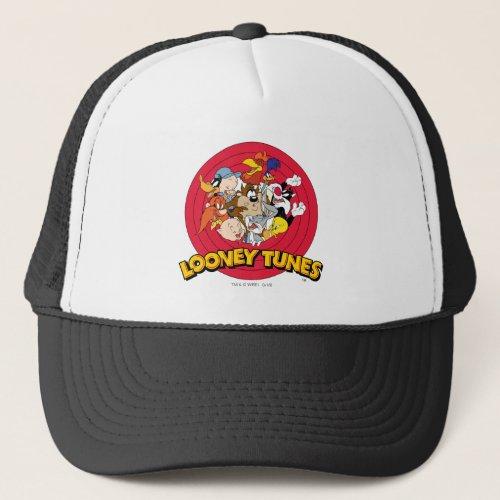 LOONEY TUNESâ Character Logo Trucker Hat