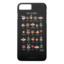 LOONEY TUNES™ Emoji Chart iPhone 8 Plus/7 Plus Case