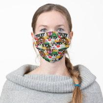 LOONEY TUNES™ Emoji Pattern Adult Cloth Face Mask