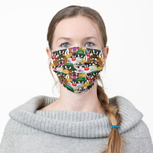 LOONEY TUNESâ Emoji Pattern Adult Cloth Face Mask