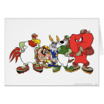 LOONEY TUNES™ Group Baseball Picture Card