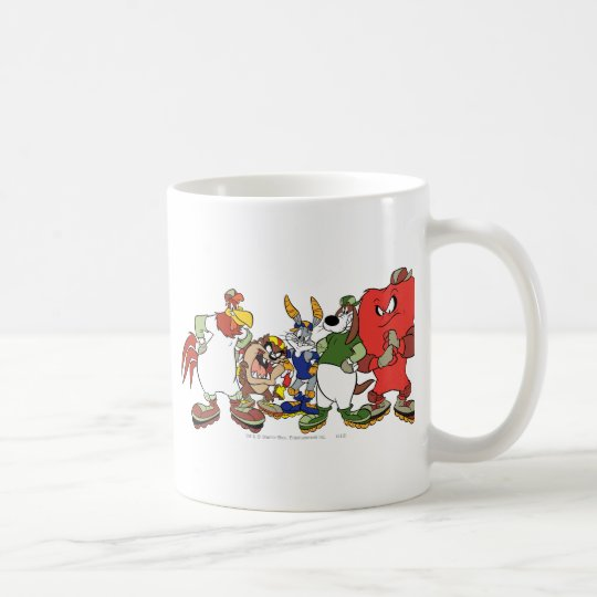 LOONEY TUNES™ Group Baseball Picture Coffee Mug