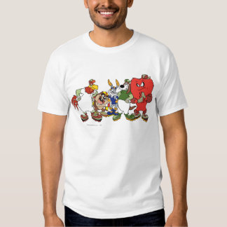 LOONEY TUNES™ Group Baseball Picture T-shirts