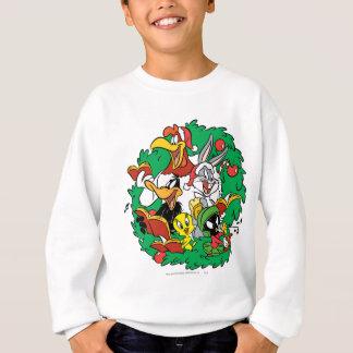 LOONEY TUNES™ Group Christmas Wreath Sweatshirt