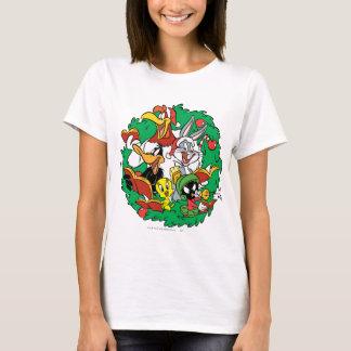 LOONEY TUNES™ Group Christmas Wreath T-Shirt