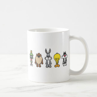 LOONEY TUNES™ Group Photo Op Classic White Coffee Mug