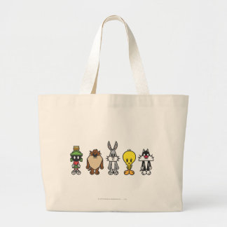 LOONEY TUNES™ Group Photo Op Large Tote Bag