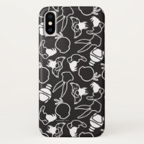 LOONEY TUNES™ Head Outlines Pattern iPhone X Case