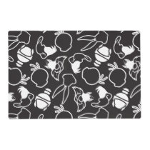 LOONEY TUNES™ Head Outlines Pattern Placemat