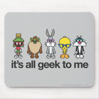 LOONEY TUNES™ Nerds - All Geek Mouse Pad