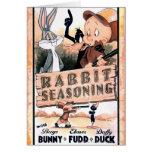 LOONEY TUNES™ Rabbit Seasoning Card