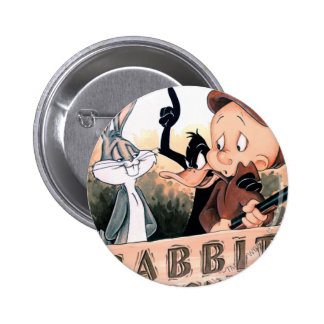 Looney Tunes Rabbit Seasoning Pinback Buttons