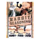 Looney Tunes Rabbit Seasoning Postcards