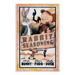LOONEY TUNES™ Rabbit Seasoning Poster