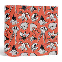LOONEY TUNES™ Retro Halftone Pattern 3 Ring Binder