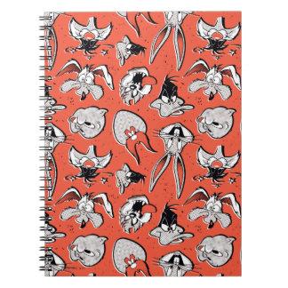 LOONEY TUNES™ Retro Halftone Pattern Notebook