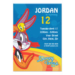 Looney Tunes Show Birthday 5x7 Paper Invitation Card