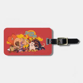 Looney Tunes Show Cast & Logo Luggage Tag
