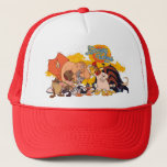 "Looney Tunes Show Cast &amp; Logo Trucker Hat<br><div class=""desc"">Looney Tunes Show</div>"